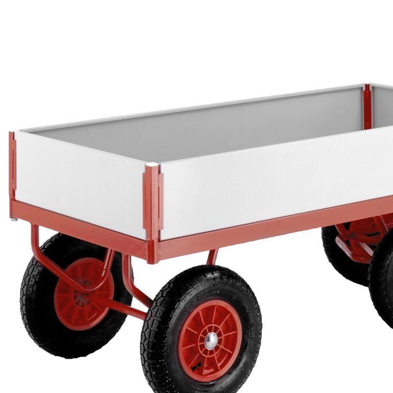 Turntable truck: end/side panel kit