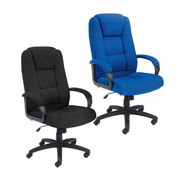 """""""Keno"""" office chair: fabric upholstery"""