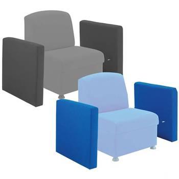 """""""Glacier"""" armrests"""