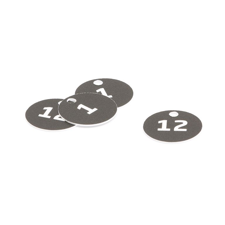 Breloczki z numerami do szafek, kluczy. Numery 1-50