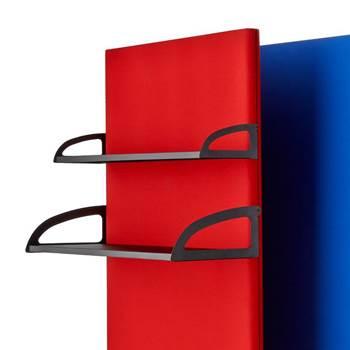 Shelf for screen wall