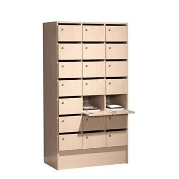 Postsorteringsskap med 21 Låsbare rom
