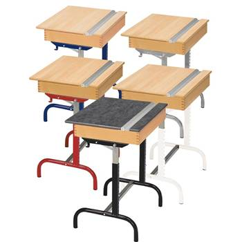 Frame for Student desk 182, 188 and Asbo box top