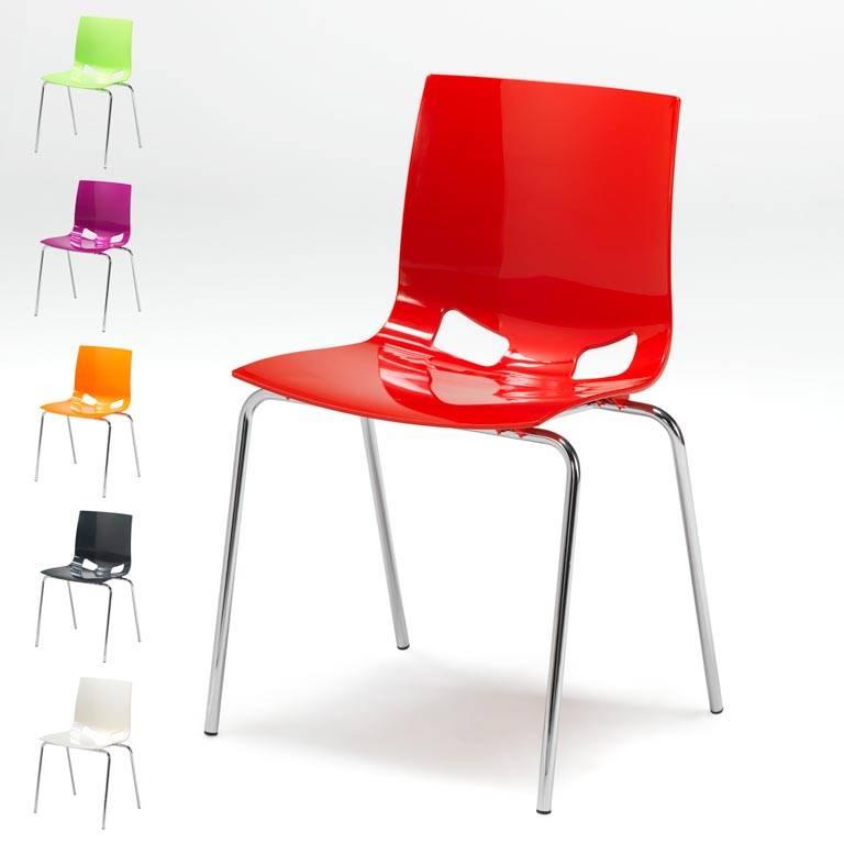 Plaststol i glada färger AJ produkter