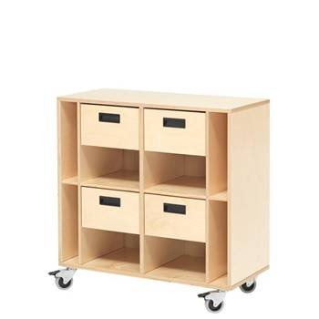 Student storage, 4 drawers