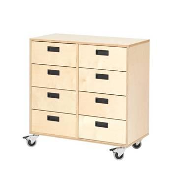 Drawer unit, 8 drawers