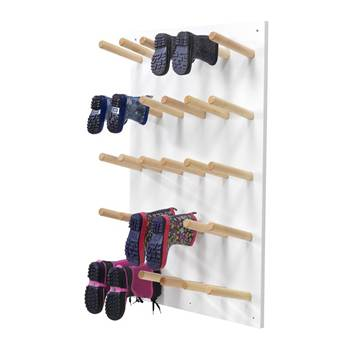 """Pero"" wall-mounted boot storage, 15 pairs"