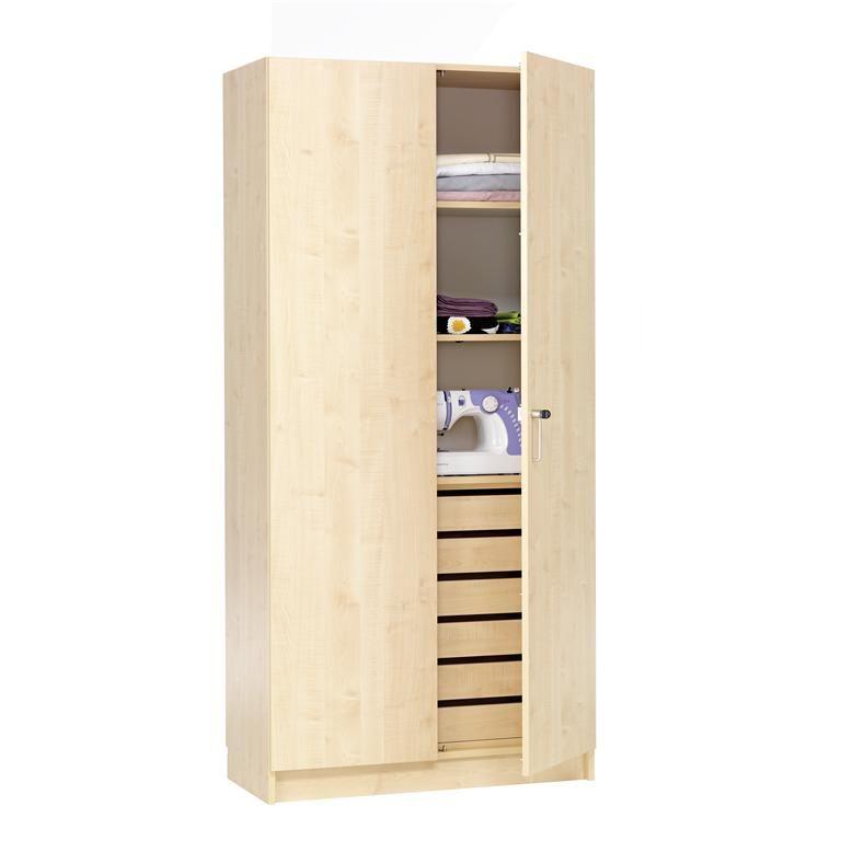 Textile Crafts Cabinet, 2 solid doors