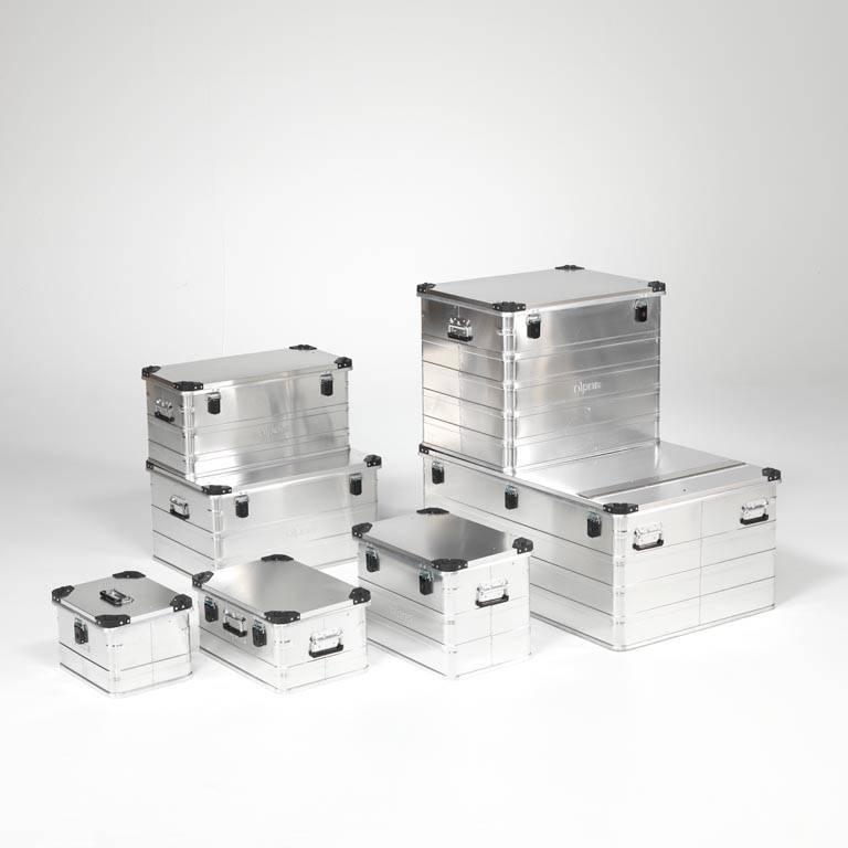 Skrzynie transportowe z aluminium